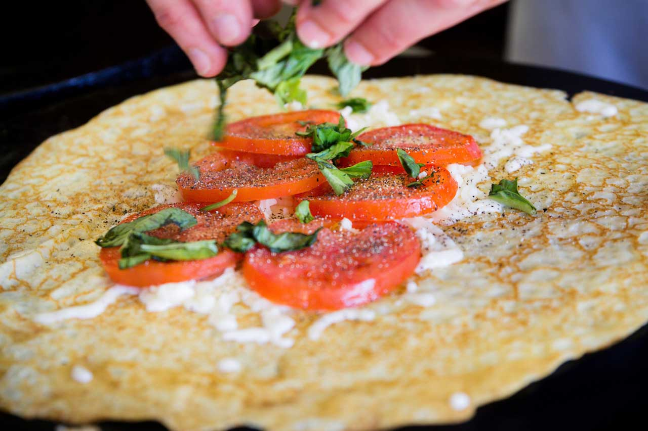 cheese French Crepe Catering