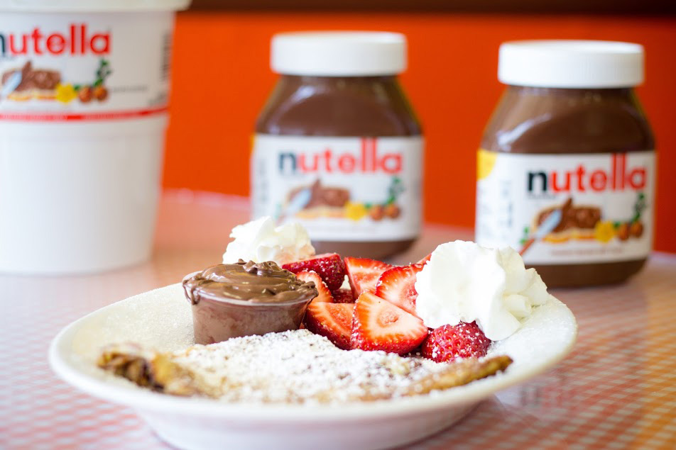 nutella-16 French Crepe Catering